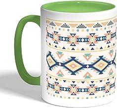 Traditional Ramadan decoration Printed Coffee Mug, Green Color (Ceramic)