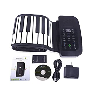 Midi Piano Outdoor Electronic Keyboards 88 Key Hand Roll Piano Foldable Home Digital Keyboard (Color : 88 key)