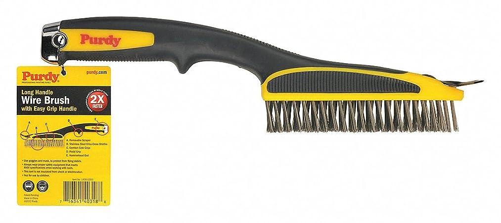 Paint Brush Comb, Black, Wire