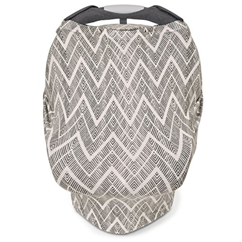 Best Review Of Skip Hop Grab and Go Arm Pad and Car Seat, Grey Zig Zag