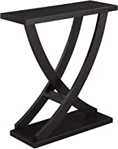 Convenience Concepts Newport Cross Step Console Table, Espresso