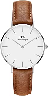 Daniel Wellington Women's Analogue Quartz Watch with Leather Strap DW00100184