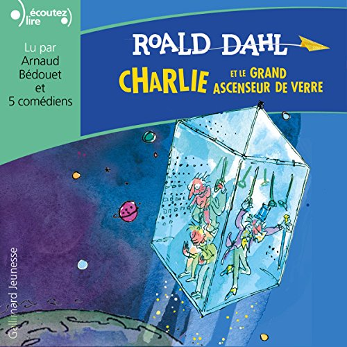 Charlie et le grand ascenseur de verre cover art