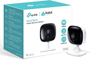 tp-link Kasa Smart Security Camera, Baby Monitor, Indoor CCTV, No Hub Required, Works with Alexa (Echo Spot/Show and Fire ...