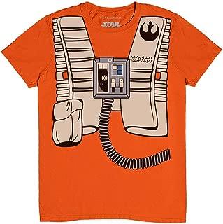 Star Wars I Am Luke Skywalker Flight Suit Pilot Halloween Costume T-Shirt