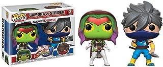 Funko Pop Games: Marvel vs Capcom - Gamora vs Strider - 2 Pack FYE Exclusive