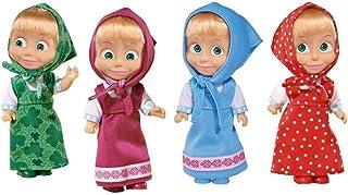 Simba 109301678 Masha and The Bear-Colourful Doll Assortment