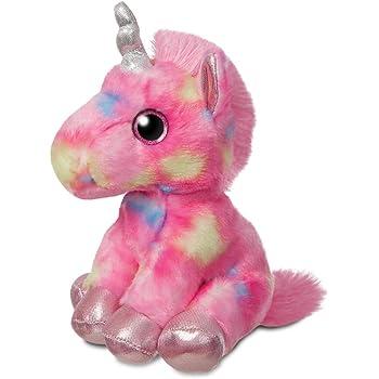 Large Cute Plush Unicorn Teddy Stuffed Super Soft Cuddly Toy Lying Horse2020 UK