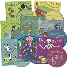 Kaplan Early Learning Company Classic Stories Book & CDs - Set of 8