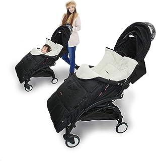 Wintervoetenzak voor babyschaal, kinderwagenschaal, kinderwagen, buggy, babyvoetenzak 3-in-1 voorjaar, herfst, universeel ...