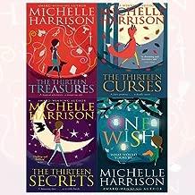 13 treasures series michelle harrison 4 books collection set - the thirteen treasures,the thirteen curses,the thirteen secrets,one wish