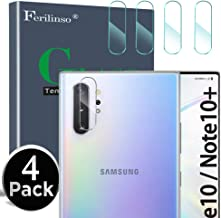 Ferilinso Camera Protector for Samsung Galaxy Note 10/ Note 10 Pro/ Note 10 Plus, [4 Pack] Tempered Glass Protection Film (Clear)
