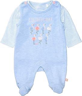 Staccato Organic Cotton Strampler mit Shirt Flamingo - Light Blue
