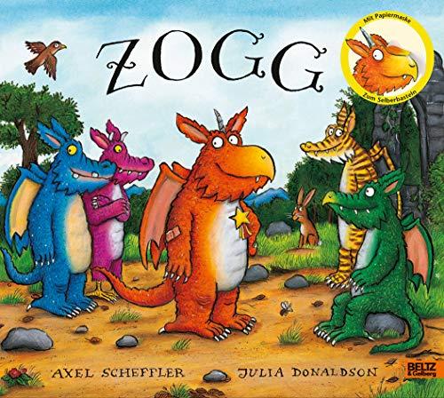 Zogg: Vierfarbiges Bilderbuch mit Zogg-Maske