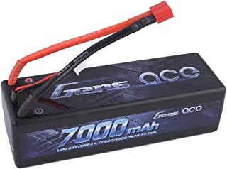 Gens ace LiPo Battery Pack 7000mAh 11.1V 60C/120C 3S HardCase with Deans Plug for RC Car Boat Truck