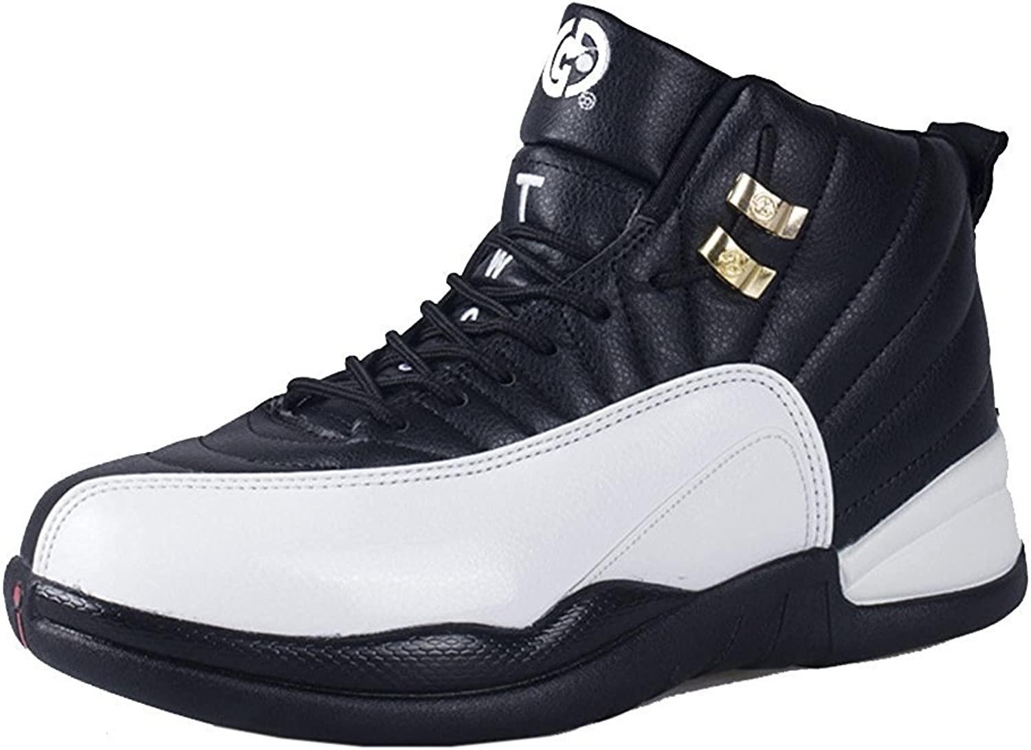 BININBOX Unisex Adult Sneaker High Top Sports shoes Basketball shoes