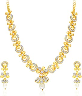 Sukkhi Collection Jewellery Sets for Women (Golden) (2559NADP550)