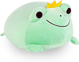 Julvie Frog Stuffed Animal Toy,Durable Frog Stuffed Animal Stretchy Plush Frog Funny Stuffed Frog Crown Frog Toy Creative ...
