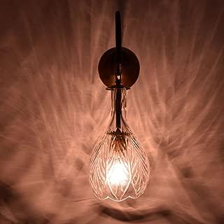 IndianShelf Handmade Decorative Bell Clear Glass Wall Lamp Indian Online