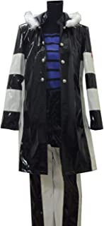 LVCOS Katekyo Hitman Reborn Cosplay Belphegor Leather Costume