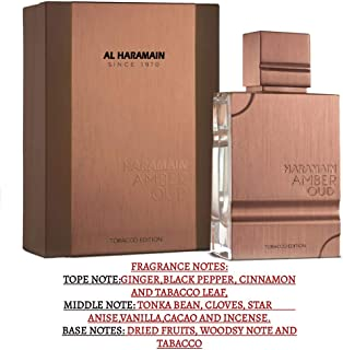 Al Haramain Amber Oud (Tobacco Edition) BY Al Haramain EDP 2.0 OZ 60ML
