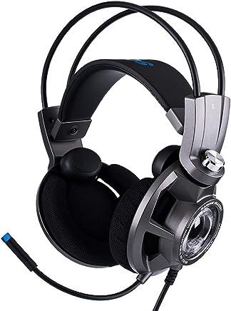 PXYUAN Diswoe Gaming Headset per PS4 Xbox One PC, Cuffie da Gioco LED con Audio Surround 7.1 Stereo, Microfono a cancellazione di Rumore, Compatibile con PC, Switch Nintendo e dispositivi mobili - Trova i prezzi più bassi