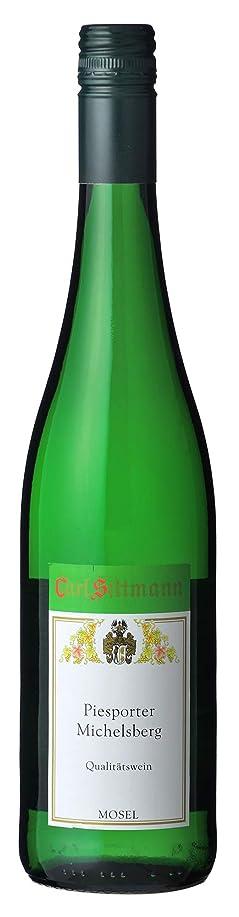 長方形家禽うるさいカール?ジットマン ピースポーター?ミヒェルスベルク 750ml 白 甘口 ドイツワイン