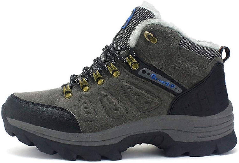 FHCGMX \65533; vinterskor för män vinterskor med varma vattentäta vattentäta vattentäta Lace Up High Top mode utomhus Man skor 46 47  fabriks direkt och snabb leverans