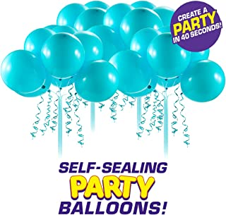 Bunch O Balloons Self-Sealing Latex Party Balloons (32 X Teal 11