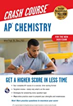 AP® Chemistry Crash Course, For the New 2020 Exam, Book + Online (Advanced Placement (AP) Crash Course)