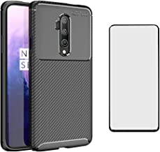 Phone Case for OnePlus 7T Pro OnePlus7TPro 5G Mclaren Edition with Tempered Glass Screen Protector Cover and Cell Accessor...