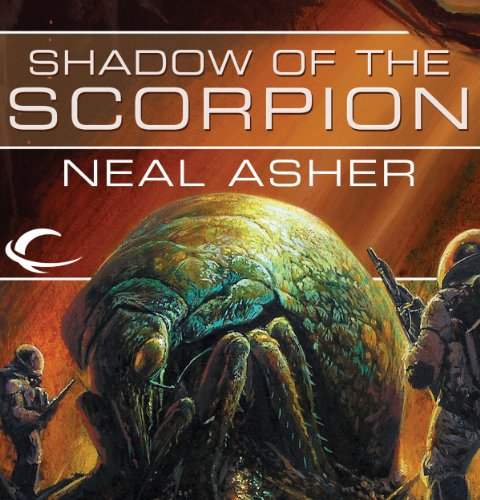 Shadow of the Scorpion audiobook cover art
