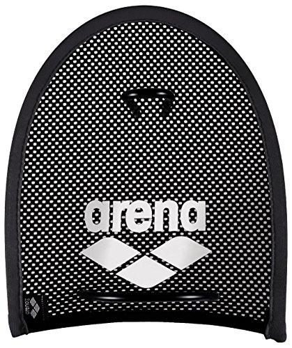 Arena Flex Paddles, Accessorio da Allenamento Unisex Adulto, Nero (Black/Silver), M