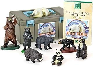 カロラータ 世界のクマ フィギュア ( 立体図鑑 ) 熊 リアル フィギュアボックス [解説書付き] 食品衛生法クリア 8種