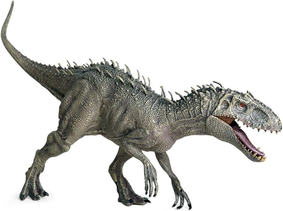 KiMiLIKE Pl/ástico Jur/ásico Indominus Rex Figuras de acci/ón con la Boca Abierta Dinosaur World Animales Modelo Kid Juguete de Regalo