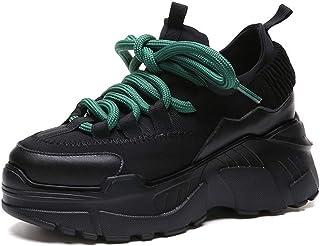 Plataforma de la Mujer Zapatillas de Deporte Chunky para Mujer Calzado de Suela Gruesa Impermeable al Aire Libre Respirabl...