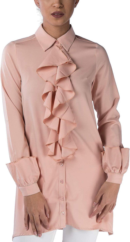 Verona Collection Ruffled LongSleeve Shirt
