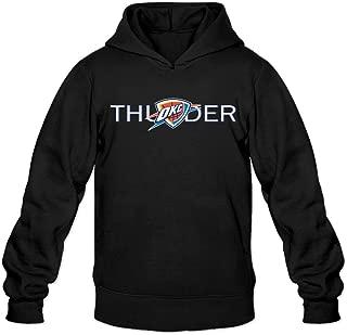Show Time Men's Oklahoma City Logo Thunder New Style Sweatshirt Black