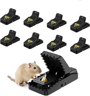 comprar comparacion Awroutdoor 8 PCS Trampa Ratones, Trampas para Ratas, Reutilizable Trampas para Ratones Alta sensibilidad Respuesta rápida ...
