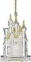Lenox 2020 Disney Castle Ornament, 0.50 LB, Metallic