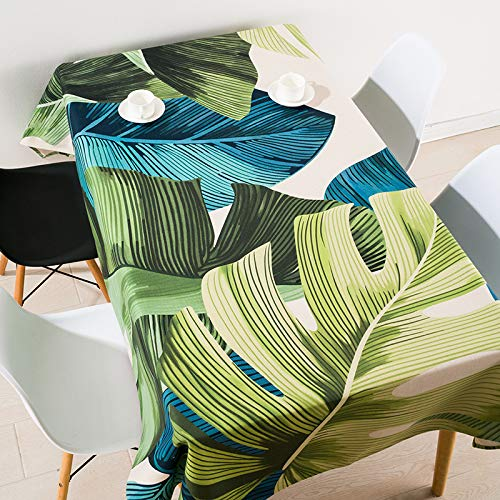 YXDZ Nappe Nordique en Tissu Nappe Rectangulaire en Coton Nappe De Table Nappe De Style Européen Couverture Nappe Serviette D 110X170Cm