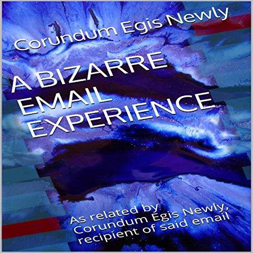 A Bizarre Email Experience audiobook cover art