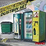 MENG Escala 1:35 'Máquina expendedora y contenedor El Sistema del Modelo (Multi-Color)