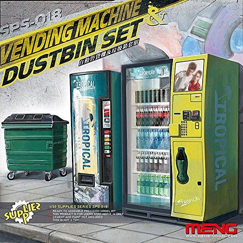 """Meng Escala 1:35 \""""Máquina expendedora y contenedor El Sistema del Modelo"""