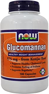 Now Foods: Glucomannan, 180 caps (2 pack)