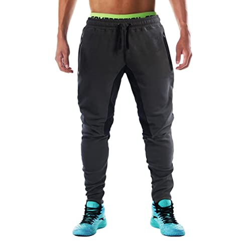 ca50ec471f980 FLYFIREFLY Men's Gym Fashion Sport Pants Fitness Workout Running Trousers