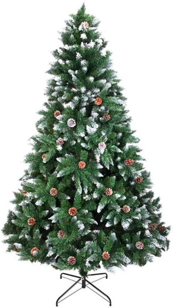 Christmas Ranking TOP13 Tree 7FT Automatic NEW before selling ☆ 1350 Branch Flocking Structure