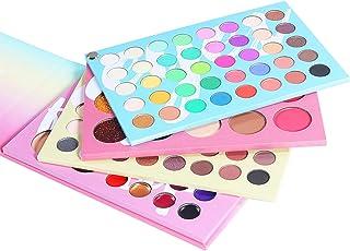 LOPADE 121 kleuren uitgebreide make-up palet bevatten lippenstift/blos/oogschaduw/concealer waterdicht - zweetbestendige m...