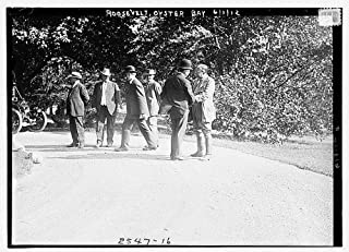 1912 Photo Roosevelt, Oyster Bay President Theodore Roosevelt, Oyster Bay, Long Island, New York. (Source: Flickr Commons project, 2008)
