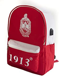 Delta Sigma Theta USB Port Backpack
